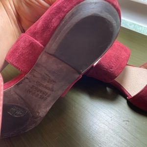 Eileen Fisher Shoes - Eileen fisher rust suede Mary Jane sandals 6.5